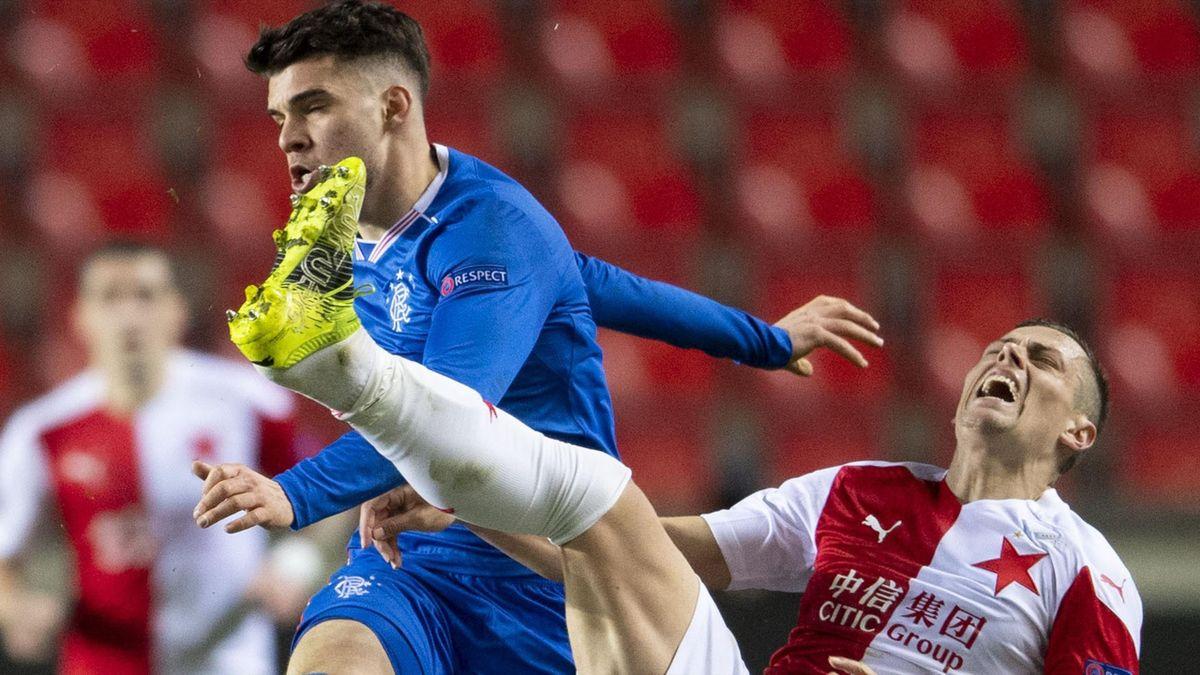 Ianis Hagi, în Slavia Praga - Rangers 1-1