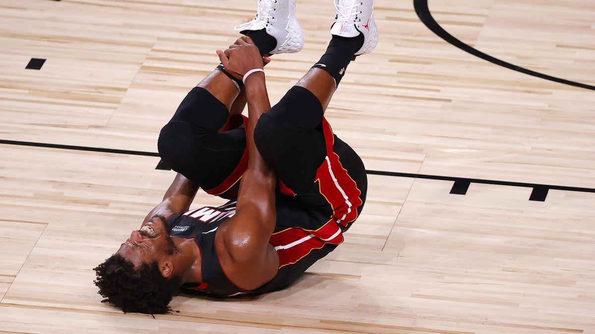 Jimmy Butler (Miami Heat) lors des Finales 2020