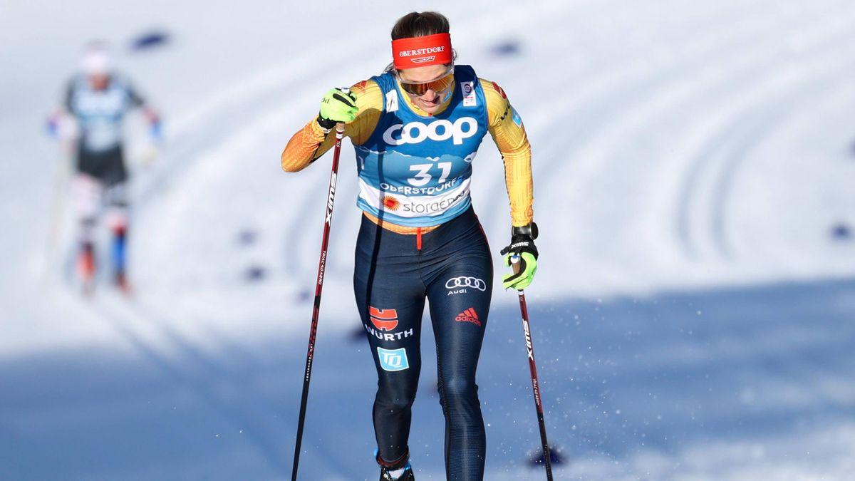 Laura Gimmler bei der WM in Oberstdorf