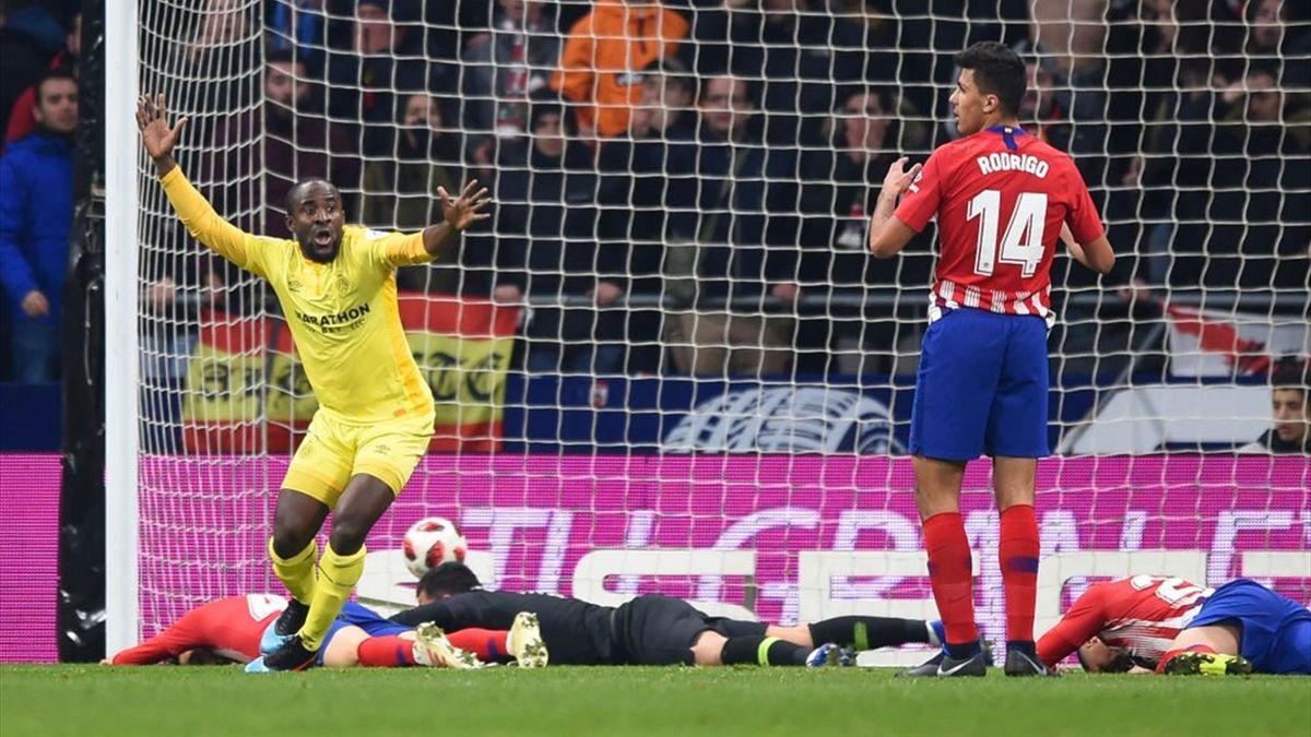 Doumbia - Atlético Madrid-Girona - Copa del Rey 2018/2019 - Getty Images