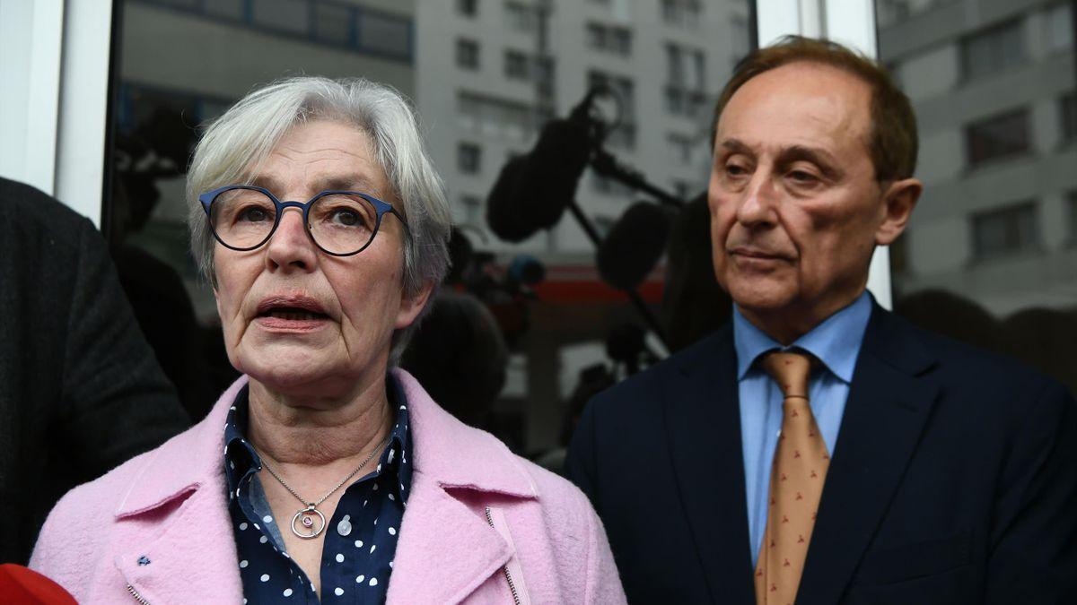 Maryvonne Del Torchio, présidente par interim de la FFSG à Paris le 8 février 2020