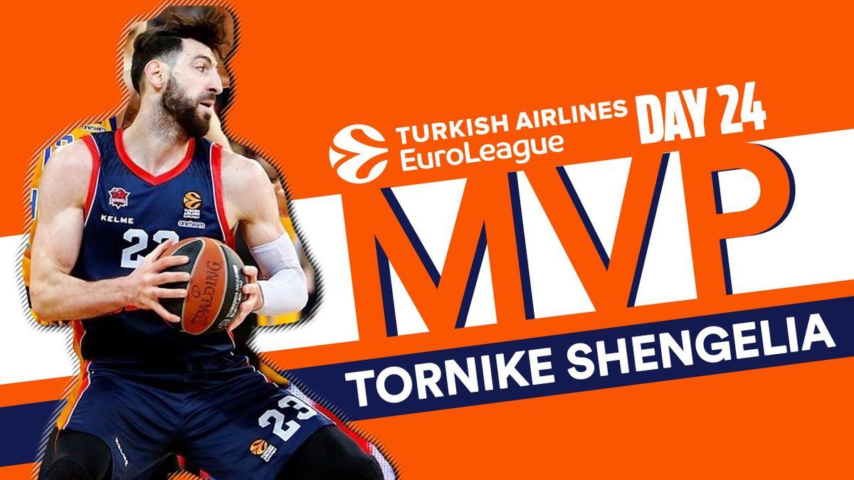 Tornike Shengelia MVP Day 24
