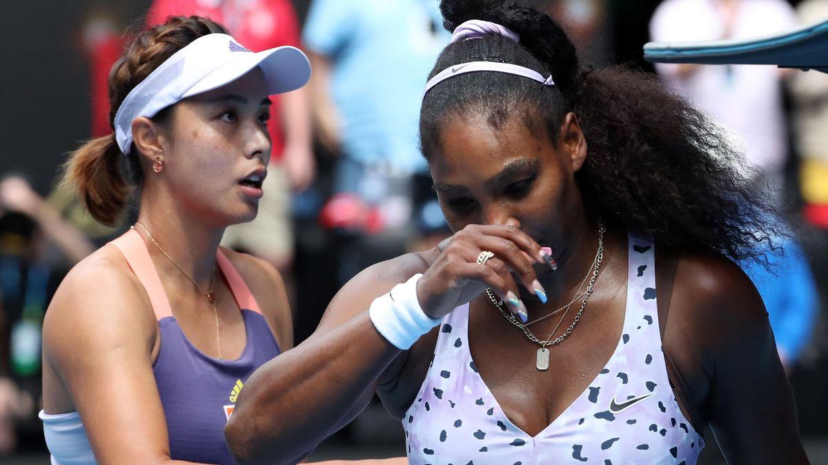 Wang Qiang a învins-o pe Serena Williams la Australian Open 2020