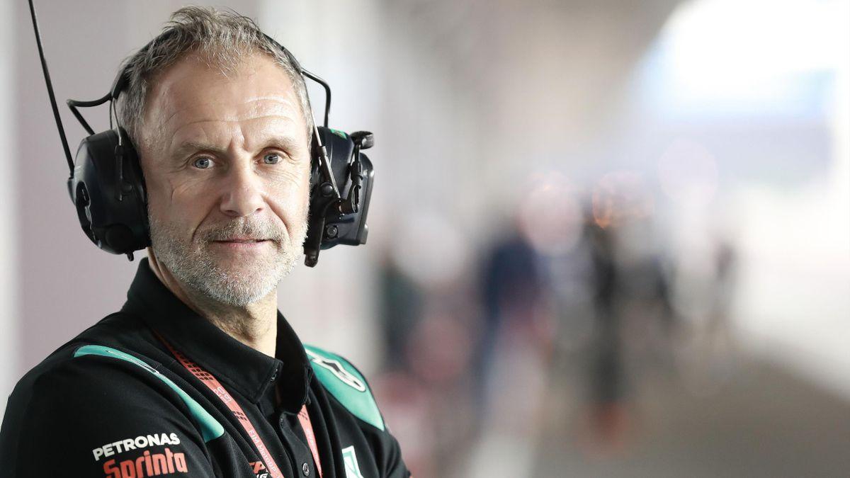 Wilco Zeelenberg is tegenwoordig teammanager van het Petronas Yamaha SRT