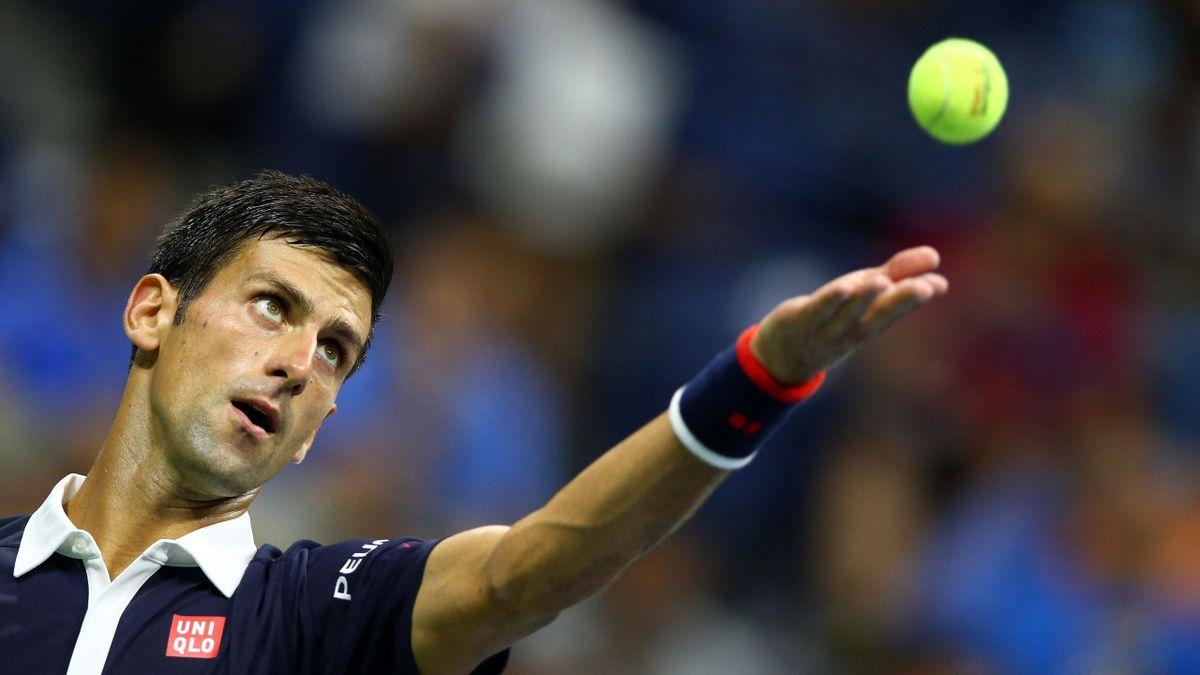Novak Djokovic à l'US Open en 2015