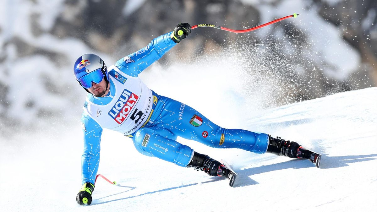 Dominik Paris, Discesa, Cortina 2021, Getty Images