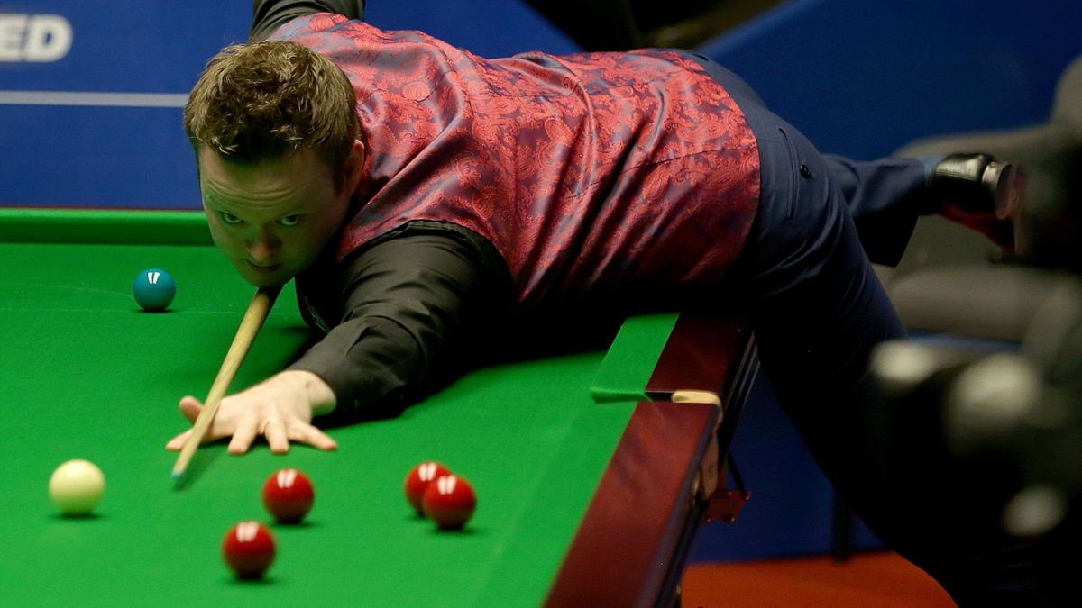 Shaun Murphy in action at the World Championship.