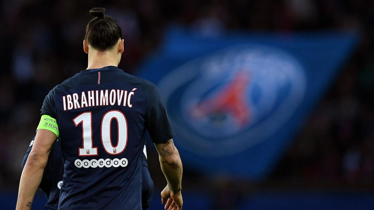 Zlatan Ibrahimovic (PSG) contre Nantes