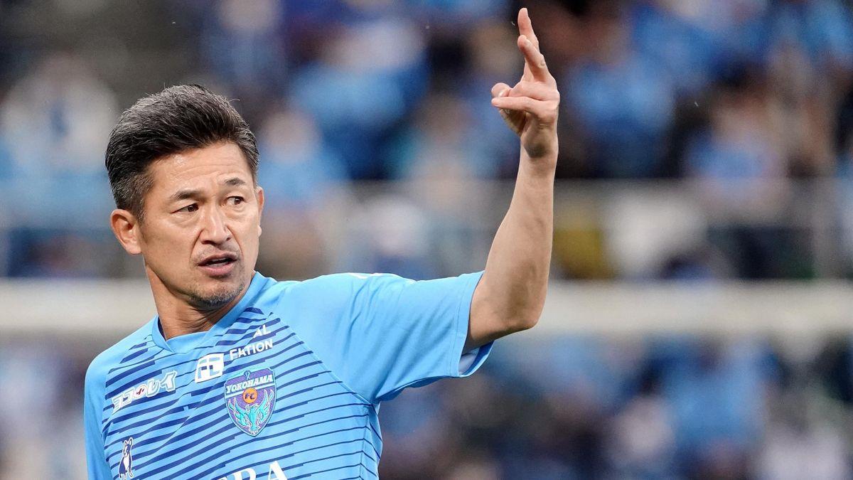 Hat auch mit knapp 54 Jahren nicht genug vom Profi-Fußball: Kazuyoshi Miura