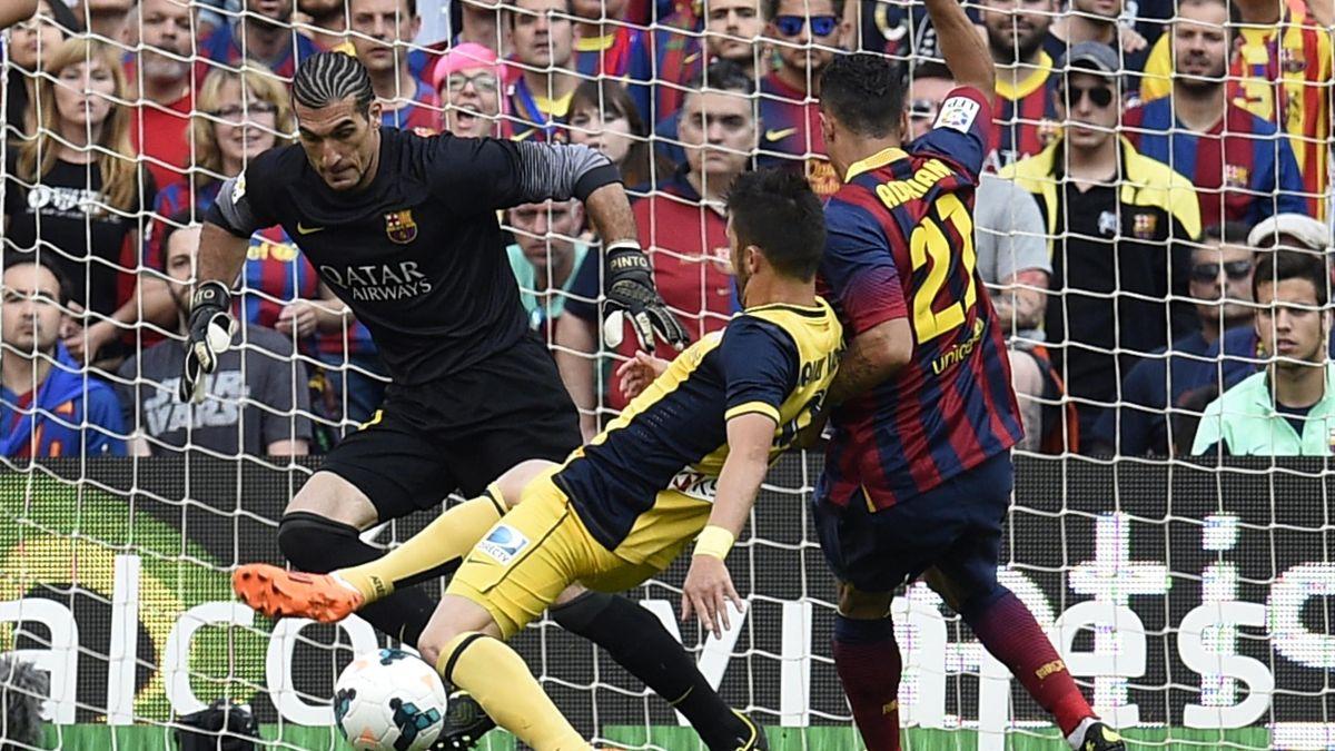 Pinto, pe vremea când apăra pentru Barcelona