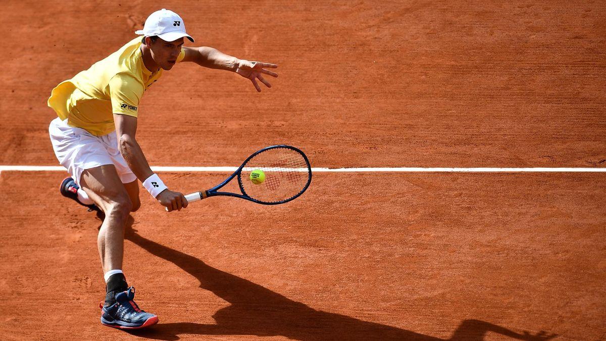 Daniel Altmaier steht im Achtelfinale der French Open