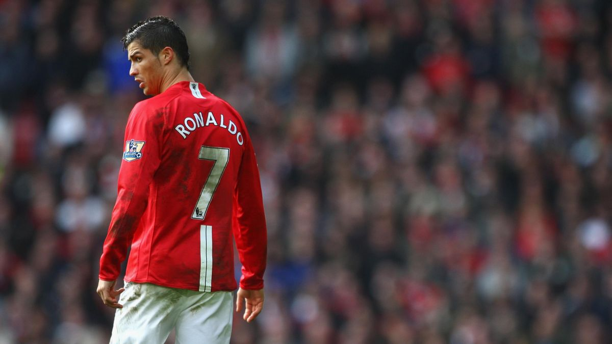 Cristiano Ronaldo spielte von 2003 bis 2009 für Manchester United