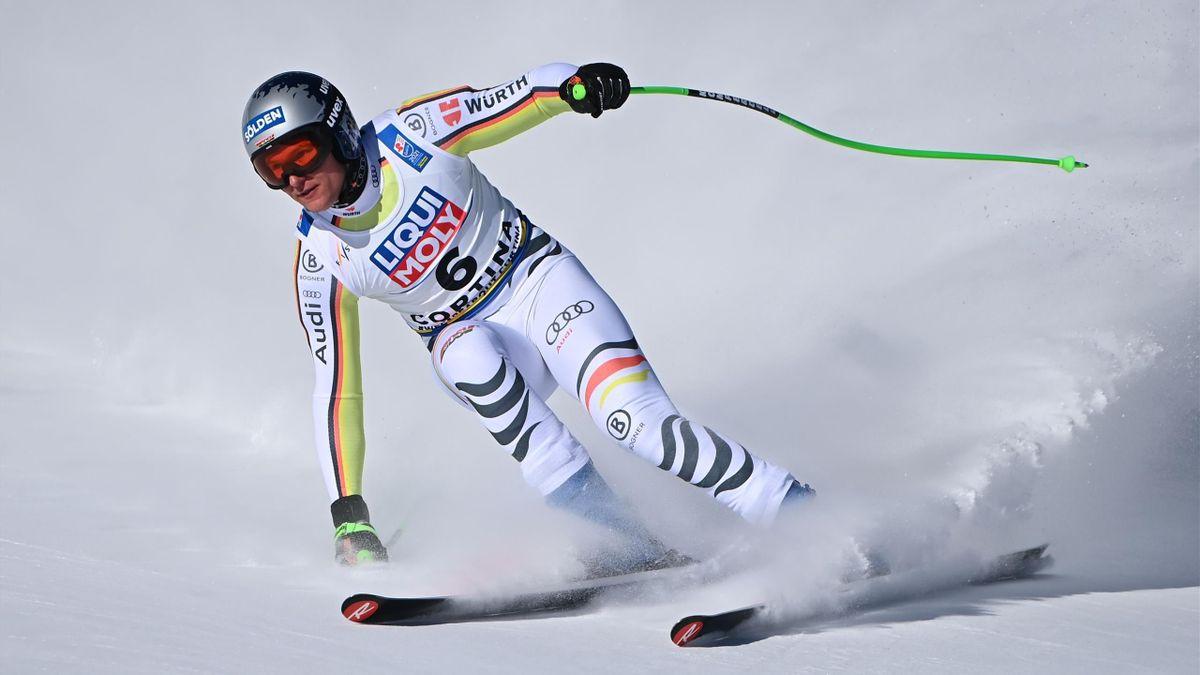 Thomas Dreßen bei der Ski-WM in Cortina