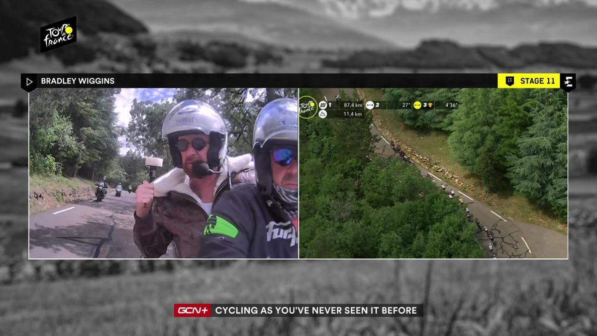 'What a rider' - Wiggins praises Thomas performance on Stage 11