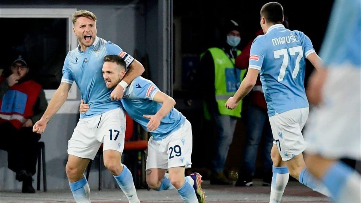 Ciro Immobile trifft im Derby gegen die Roma