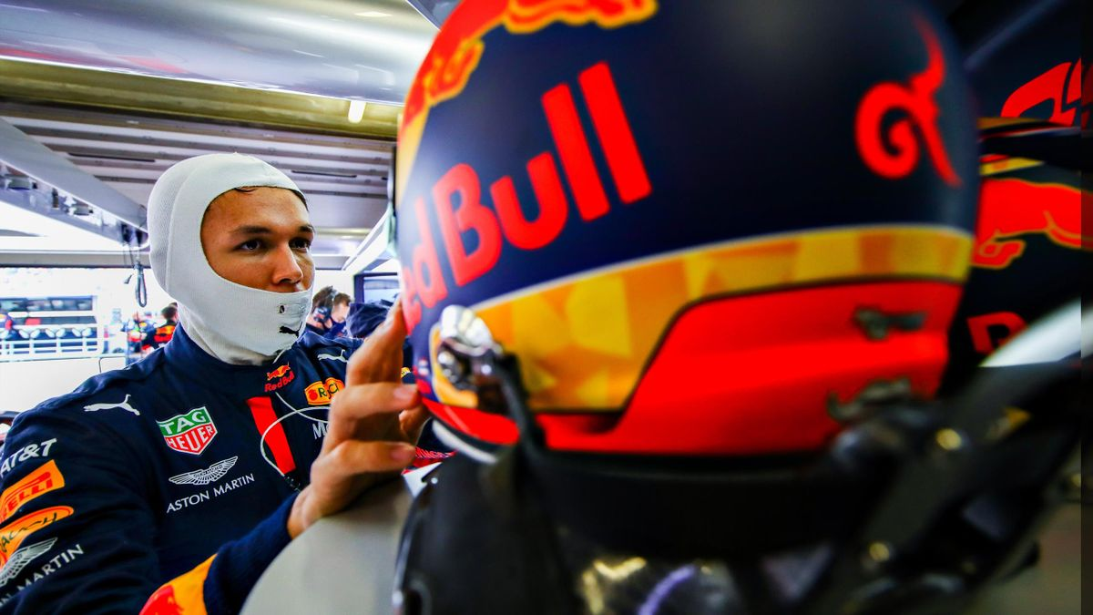 Alexander Albon chez Red Bull