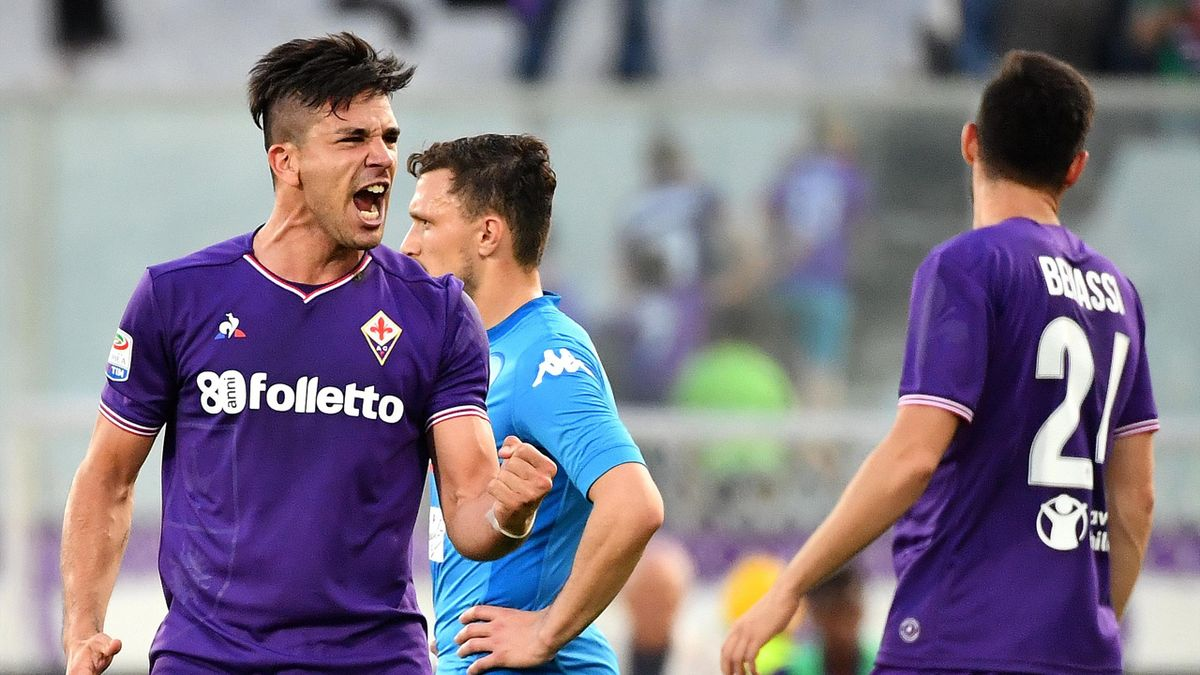 Giovanni Simeone Fiorentina Napoli 2018