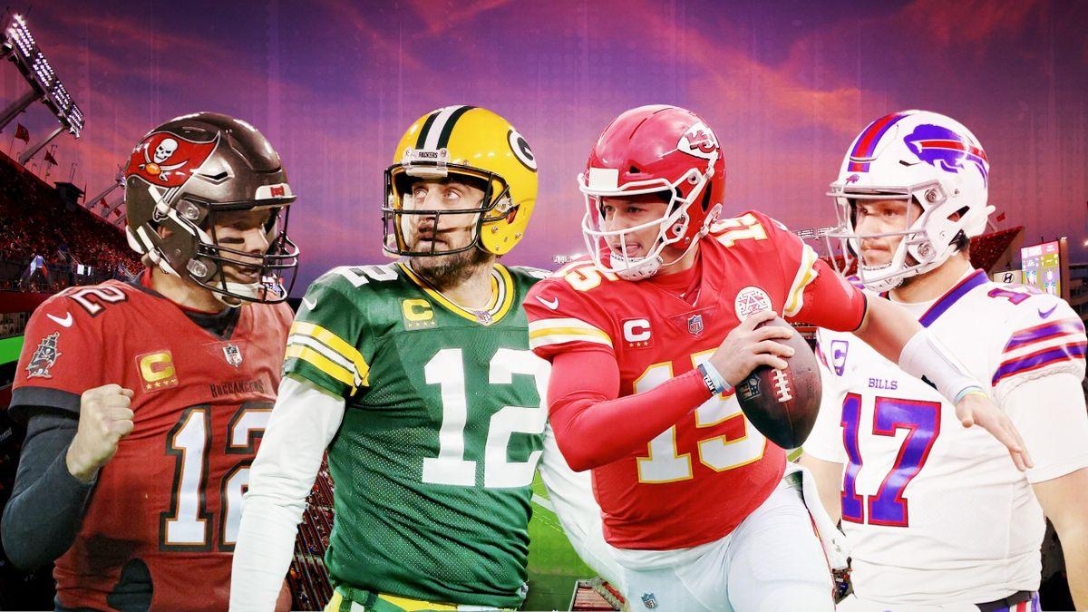 Quatre quarterbacks pour deux places au Super Bowl.