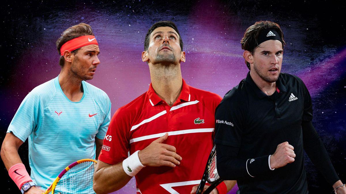 Nadal / Djokovic / Thiem