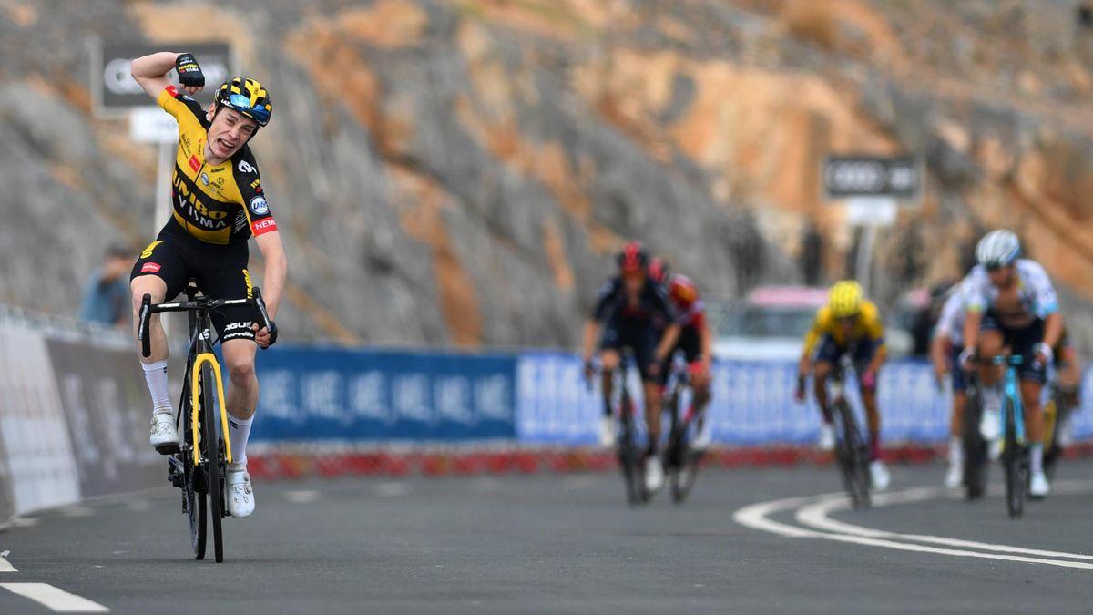 Im Zielsprint: Vingegaard schnappt sich Etappen-Erfolg