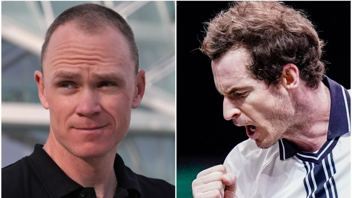 Chris Froome and Andy Murray