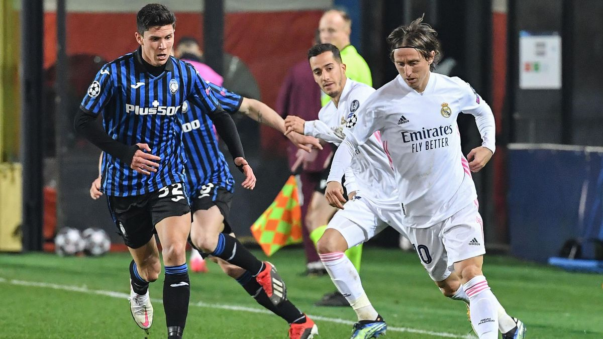 Matteo Pessina in Atalanta-Real Madrid