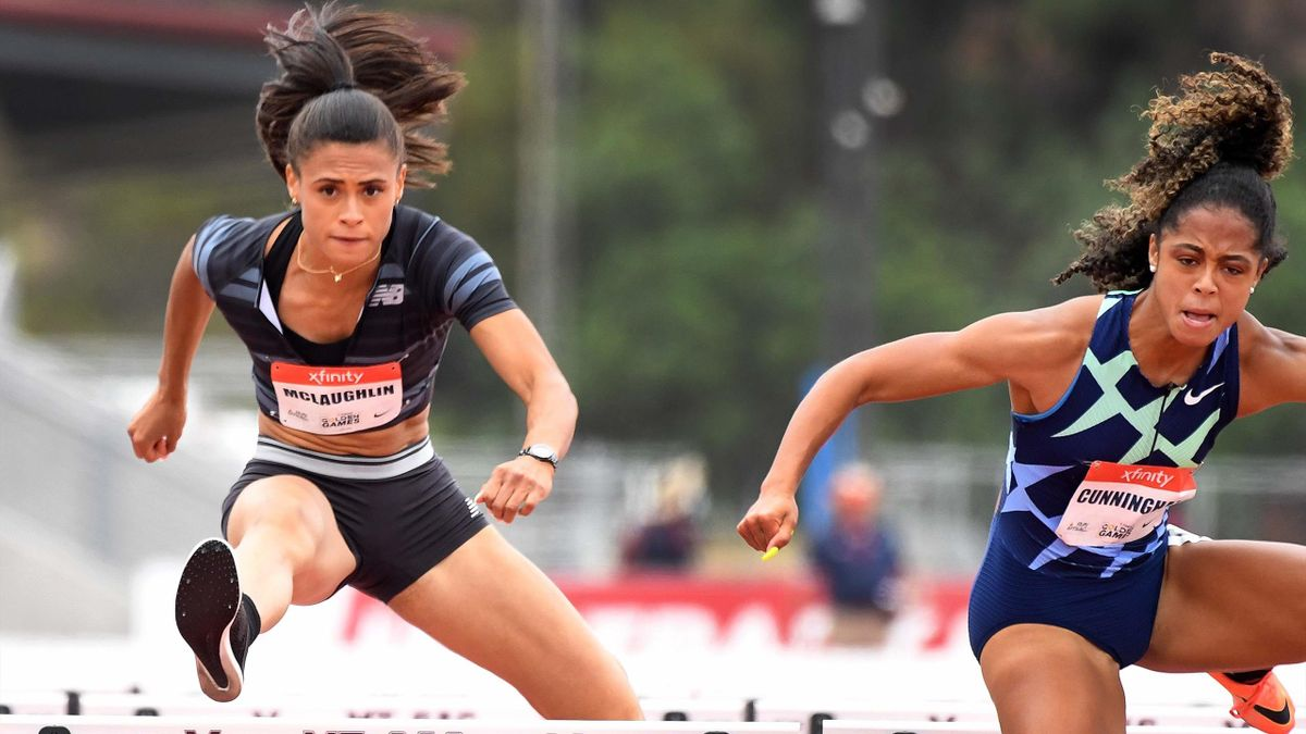 L'Américaine Sydney McLaughlin a établi la meilleure performance de l'année sur 400 mètres haies, couru en 52,83 secondes, lors d'une réunion à Nashville, Tennessee.