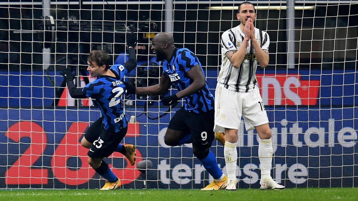 Inter Milan - Juventus Nicolo Barrella goal
