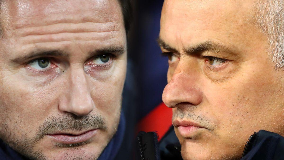 Frank Lampard & Jose Mourinho