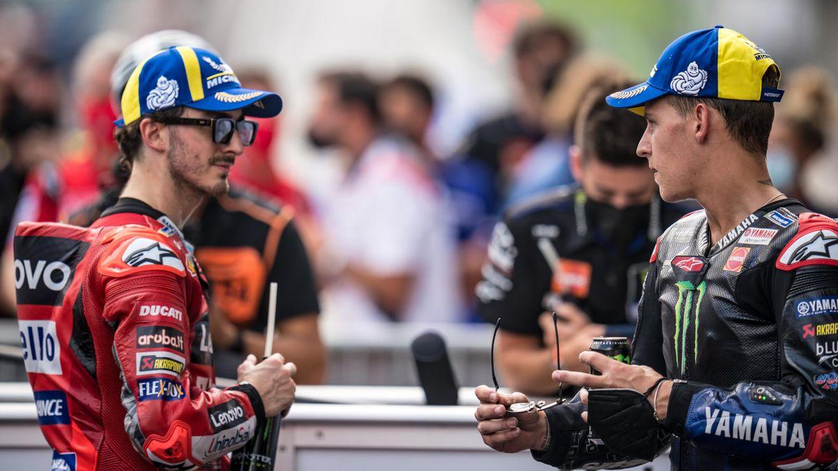 Pecco Bagnaia, Fabio Quartararo, MotoGP, Getty Images