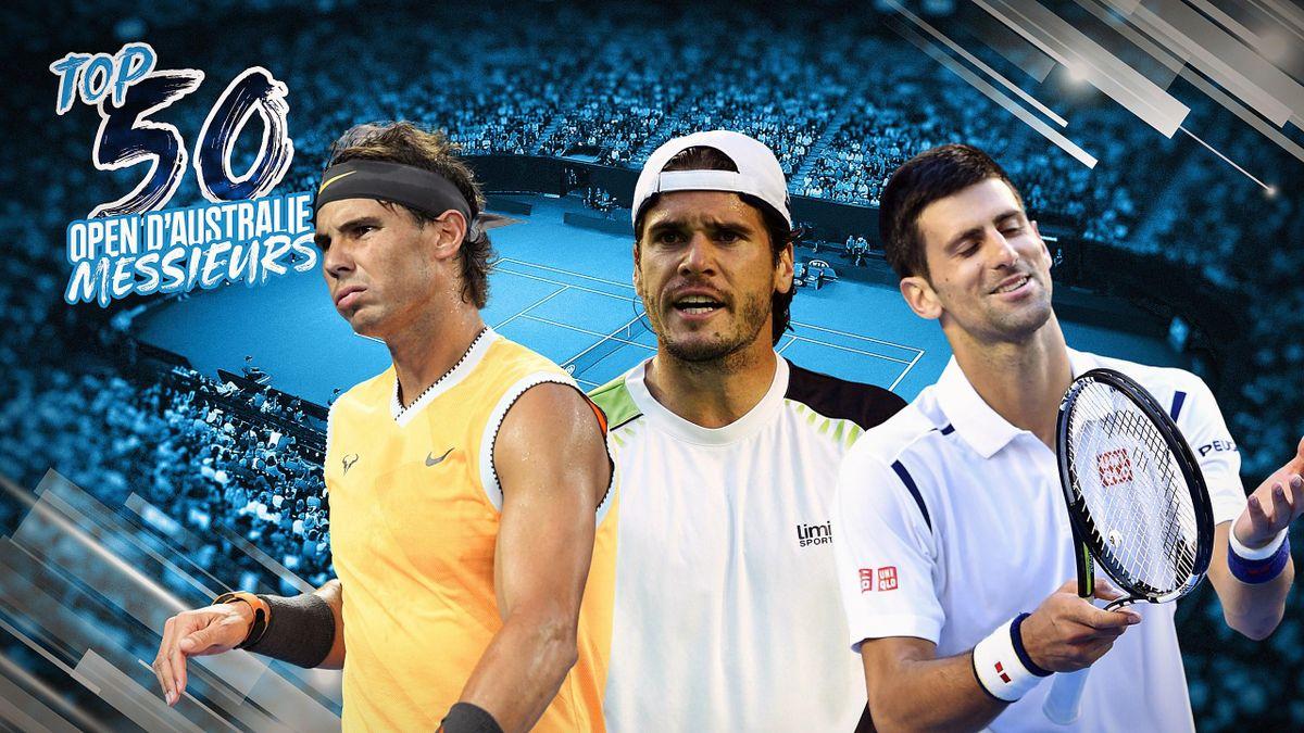 Le Top 50 des matches de l'Open d'Australie