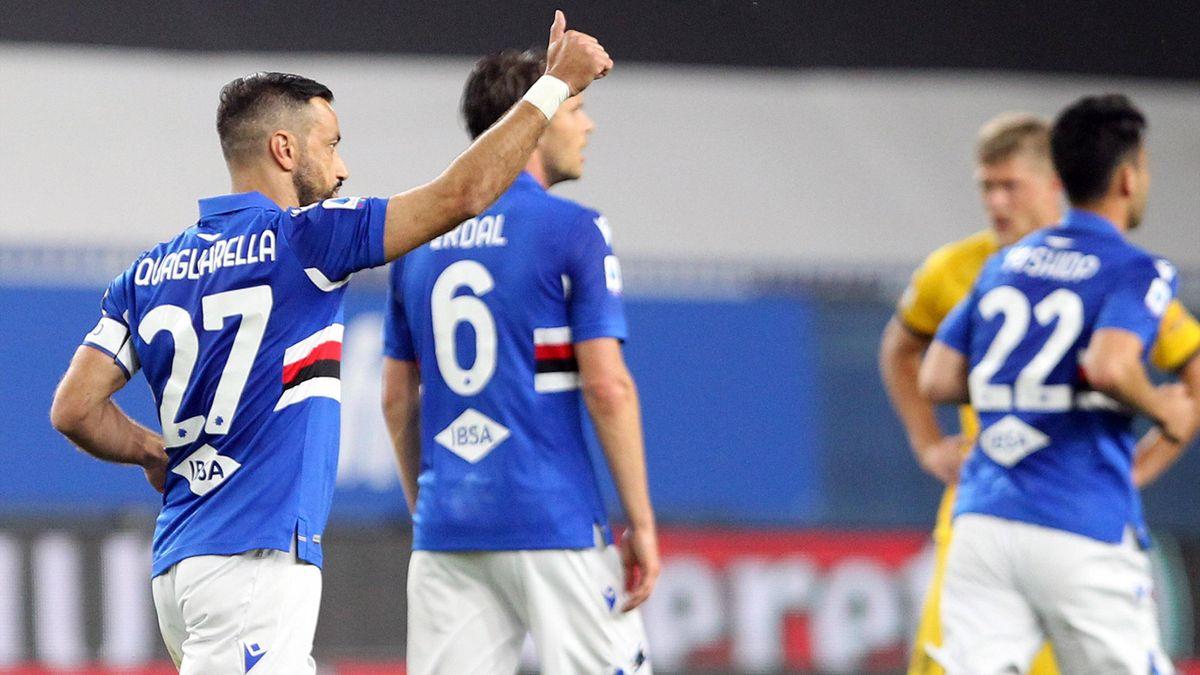 Fabio Quagliarella, Sampdoria-Parma, Serie A, Getty Images