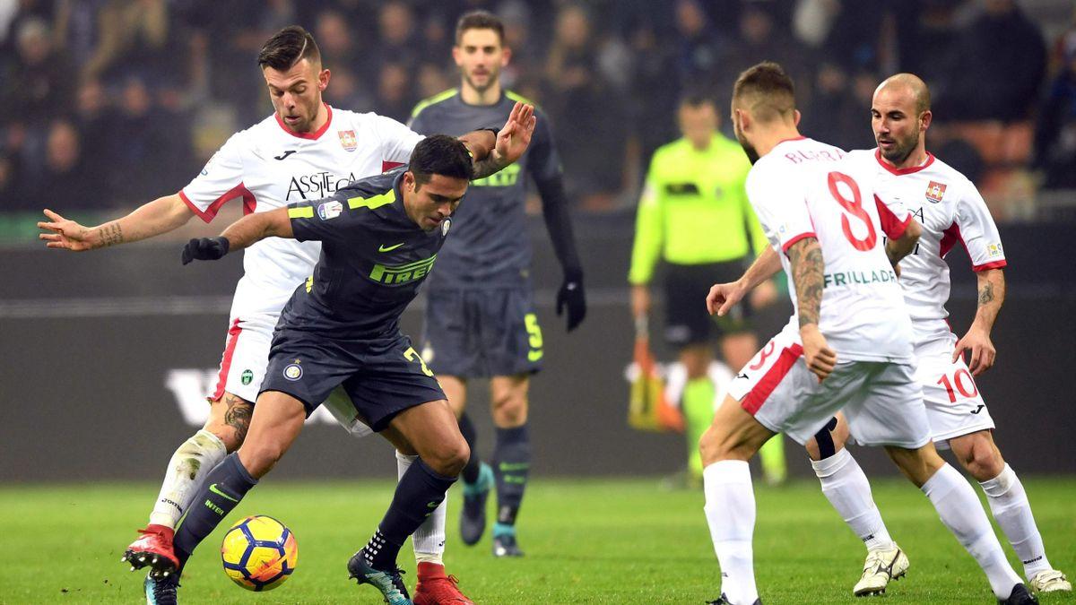 Inter-Pordenone, Coppa Italia 2017-2018