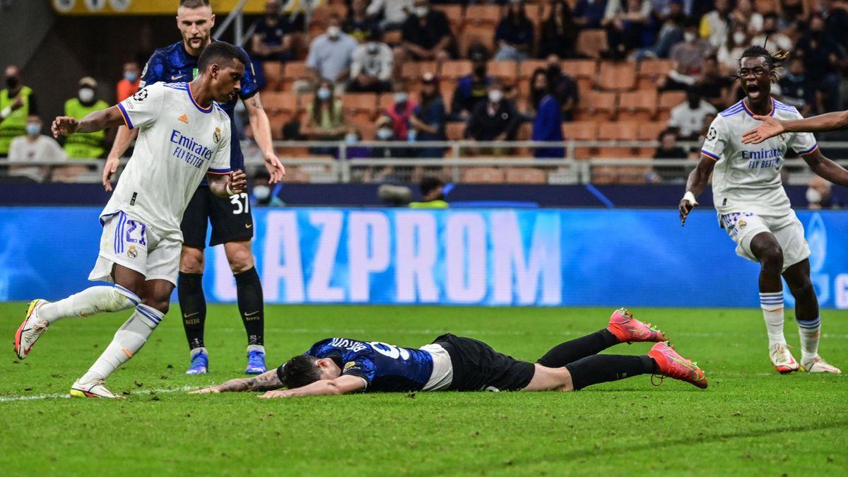 Rodrygo segna il gol vittoria, Inter-Real Madrid, Getty Images