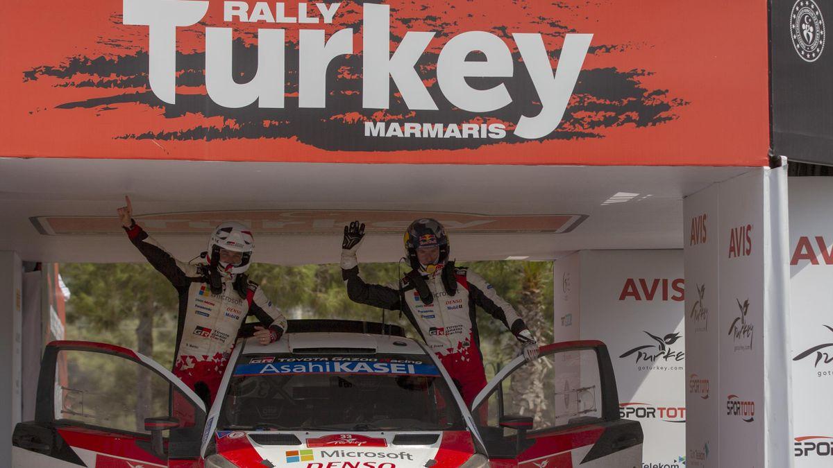 Le Gallois Elfyn Evans (Toyota) a remporté dimanche le rallye de Turquie