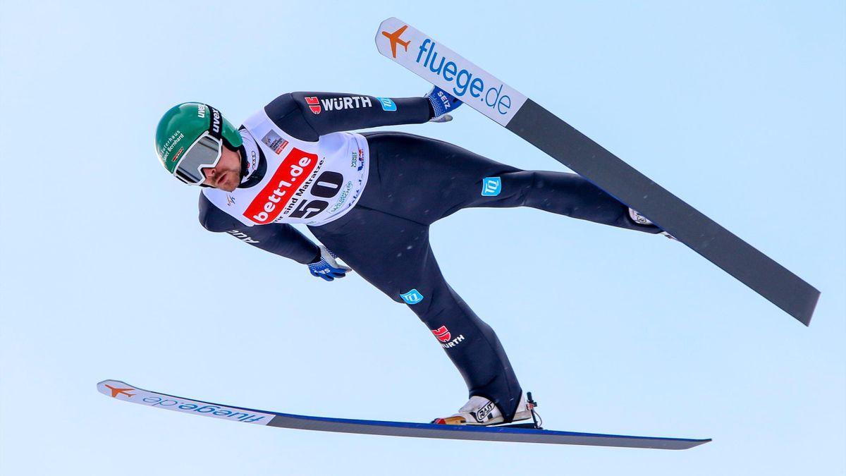 Fabian Rießle in Klingenthal in Aktion
