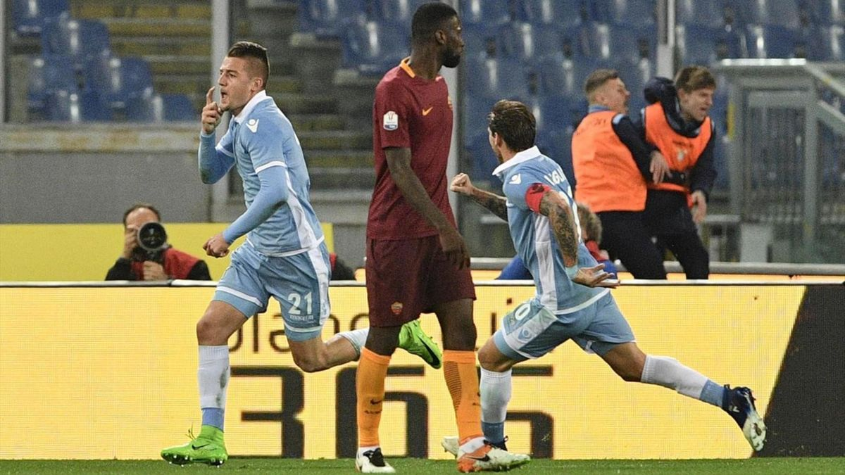 Milinkovic-Savic Lazio Roma 2017