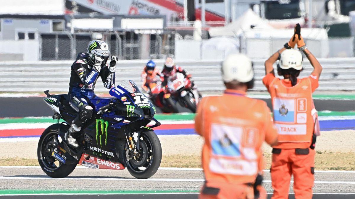 Maverick Viñales (Yamaha). GP Emilia Romaña 2020