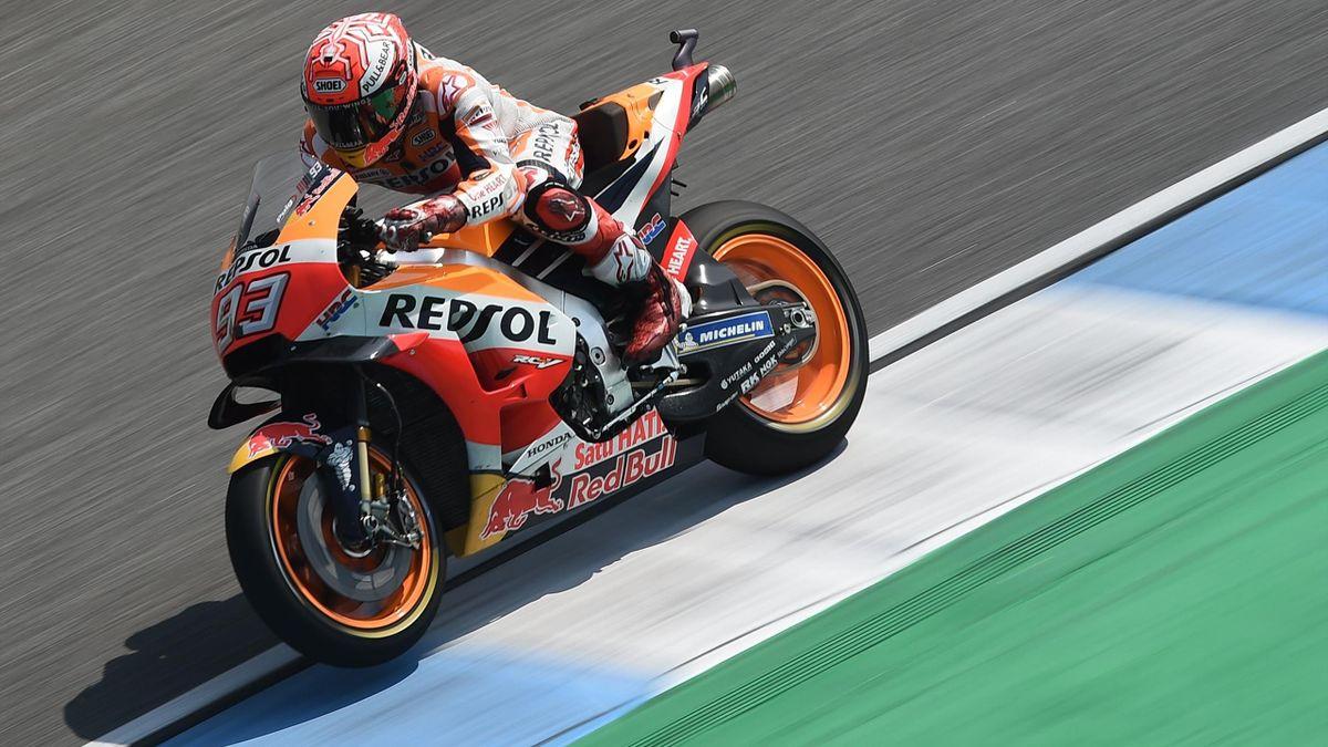 Marc Márquez Thai GP 2018