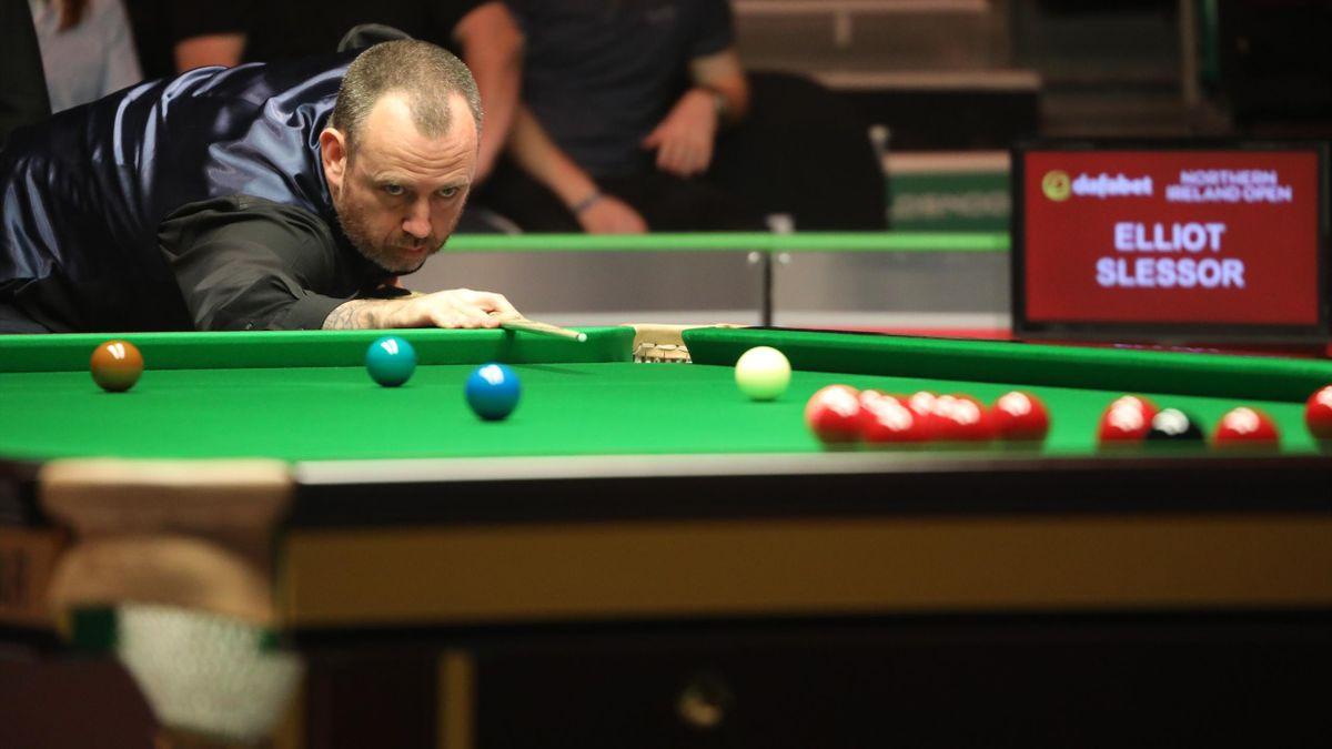 Mark Williams was a 6-2 winner against Elliot Slessor.