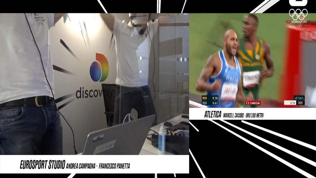 Tokyo 2020   Italiaanse commentatoren worden gek bij 100 meter sprint