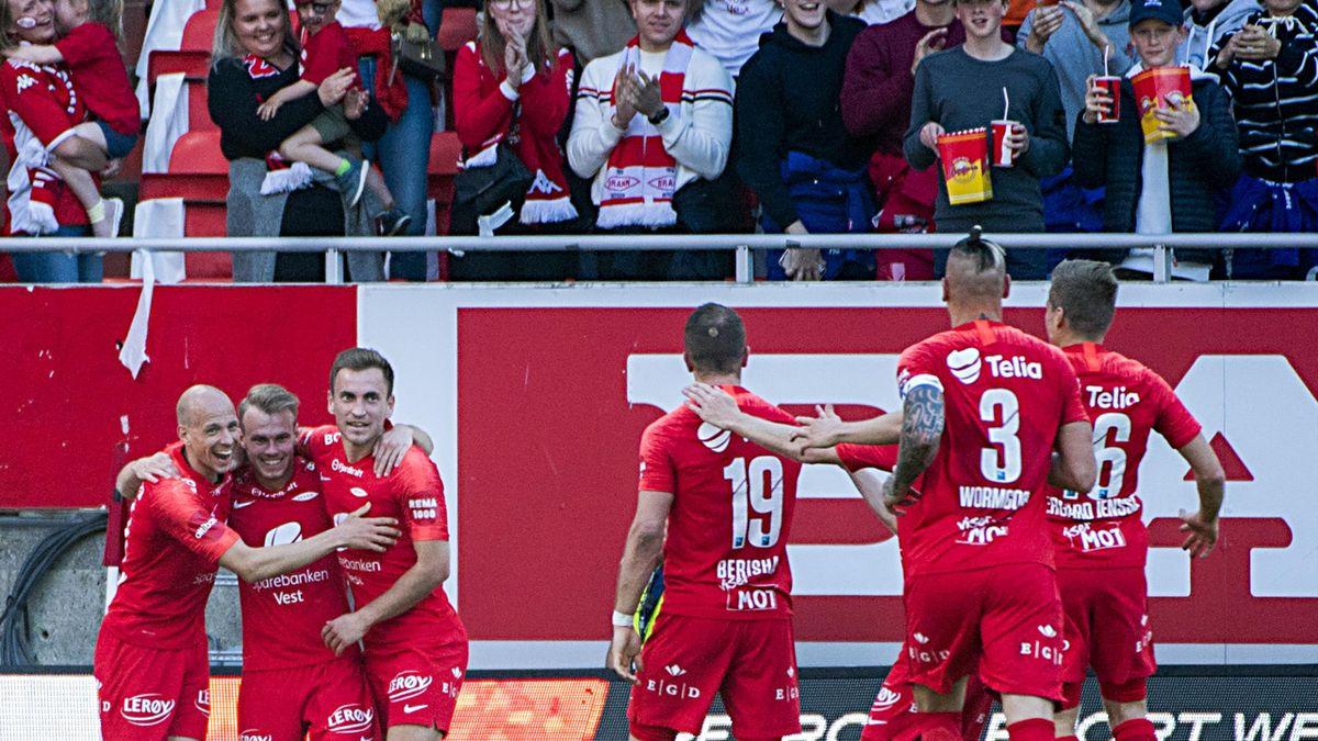 Brann scoret 2-0 mot Sarpsborg 08