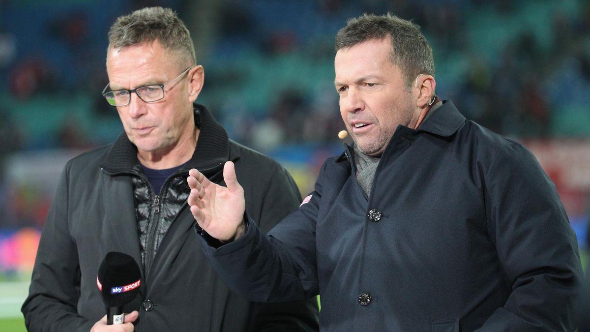 Ralf Rangnick (links) und Lothar Matthäus sind als Bundestrainer-Kandidaten im Gespräch