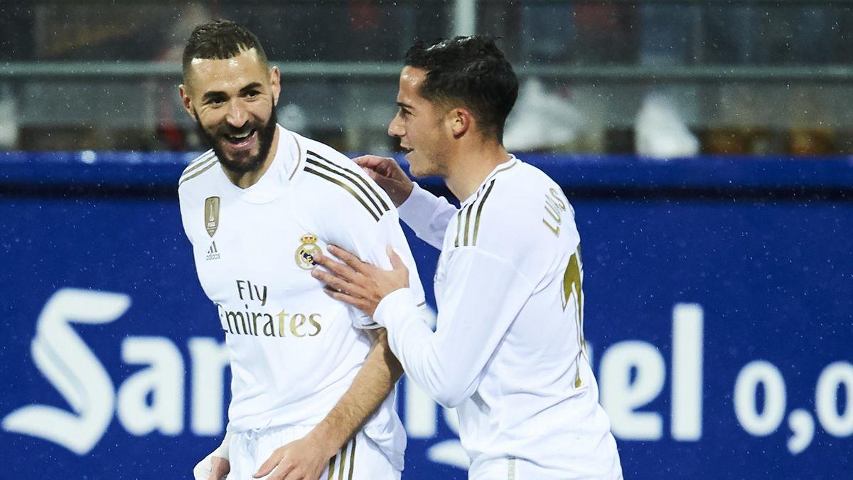 Karim Benzema y Lucas Vázquez (Real Madrid)