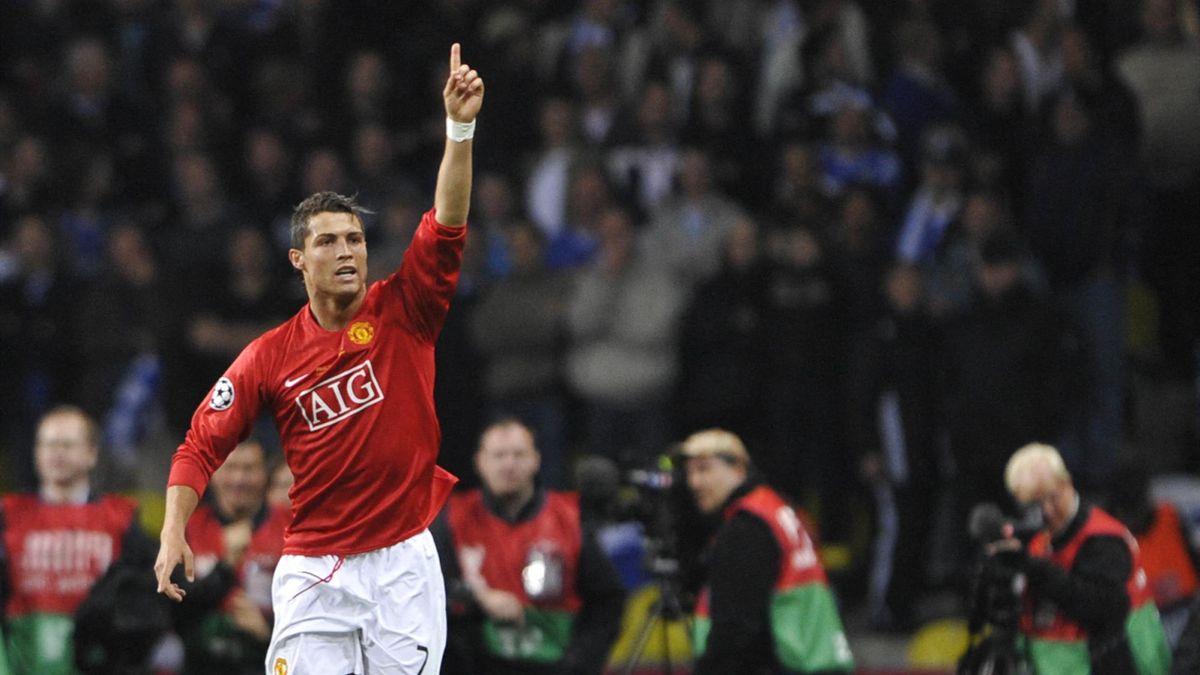 Cristiano Ronaldo - 2008 - AFP/Franck Fife