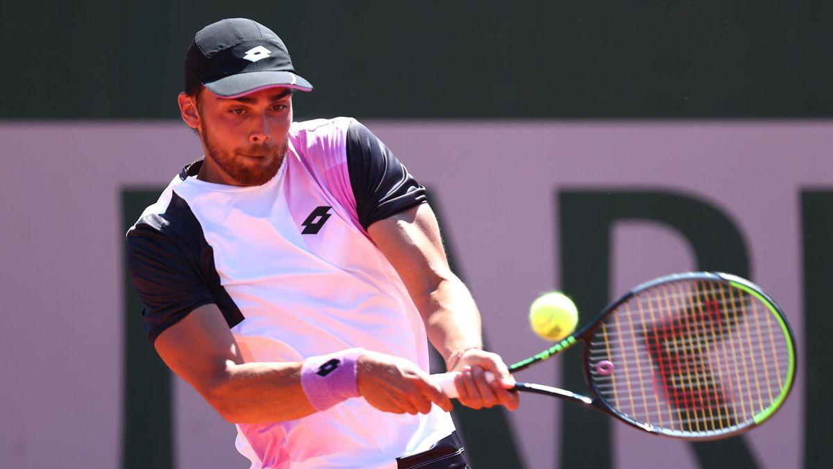 Benjamin Bonzi à Roland-Garros en 2021