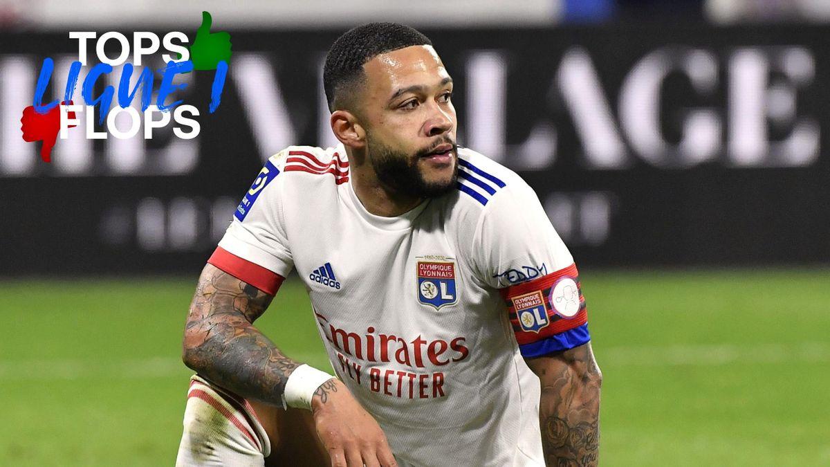 Memphis Depay, le facteur X de l'Olympique Lyonnais - Les Tops et les Flops de la 28e journée