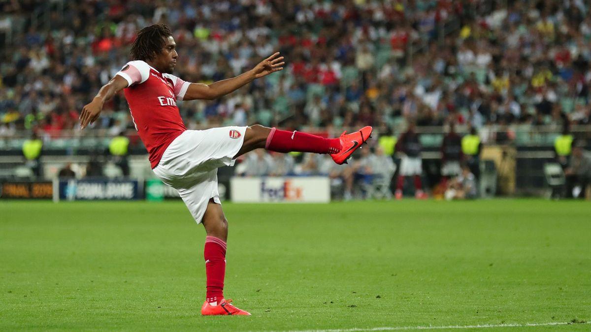 Alex Iwobi lors de la finale de Ligue Europa 2018/2019 entre Arsenal et Chelsea