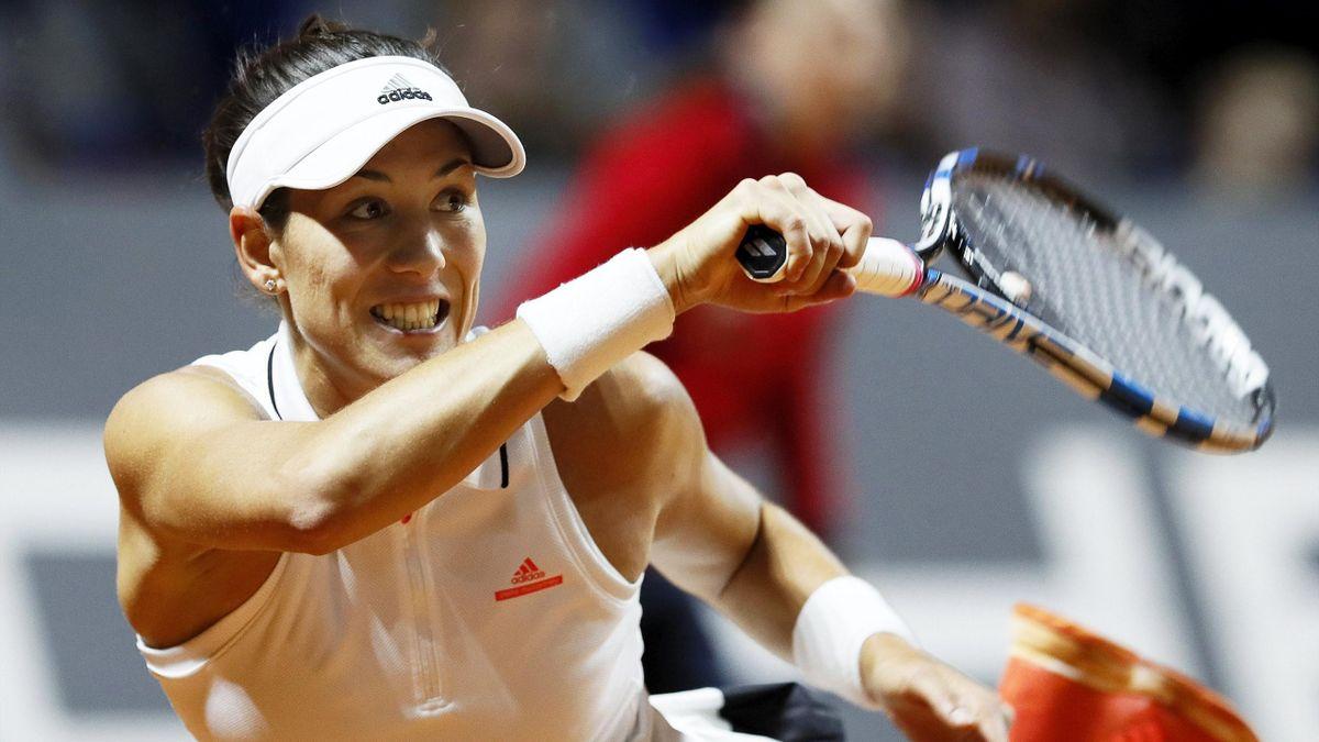 Garbiñe Muguruza en el WTA Stuttgart