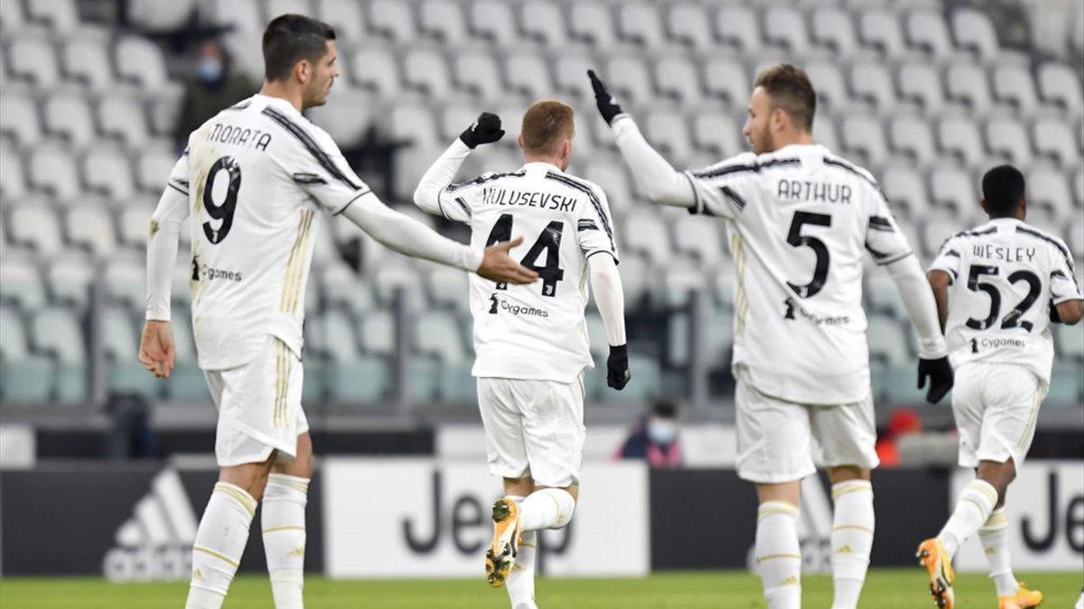 Morata, Arthur - Juventus-Genoa - Coppa Italia 2020/2021 - Getty Images
